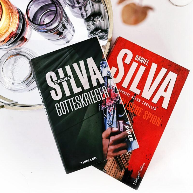 <span style='font-size: large;'>Gelesen im Oktober Teil 1 </span><br />Daniel Silva Gotteskrieger & Der englische Spion