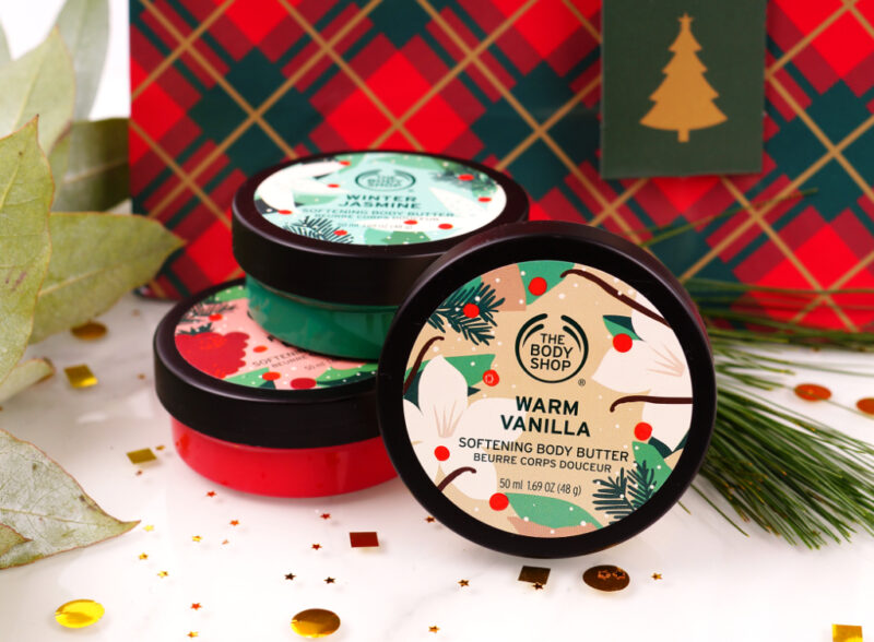 The Body Shop Weihnachten 2020 Warm Vanilla, Winter Jasmine, Festive Berry