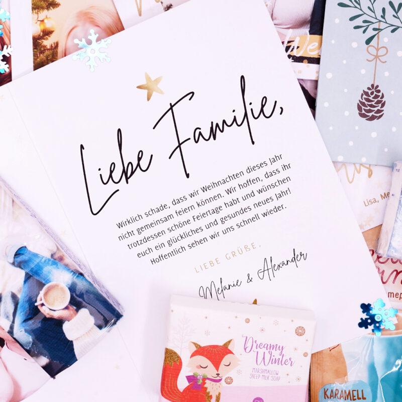 <span style='font-size: large;'>Weihnachtszauber per Post </span><br />Ideen für das perfekte Weihnachtspäckchen