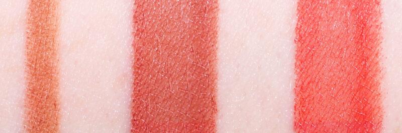 Shiseido ModernMatte Powder Lipsticks 506 und 525 und LipLiner InkDuo 02