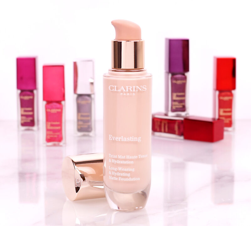 Clarins Everlasting & Lip Comfort Oil Shimmer