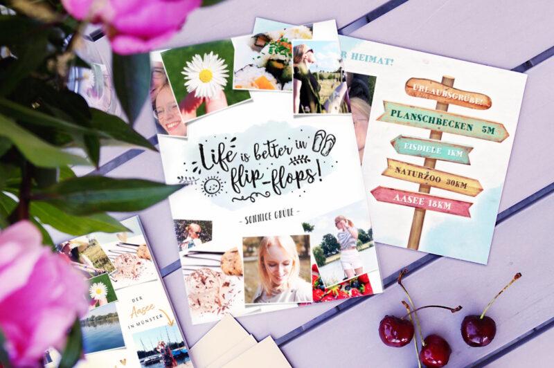Urlaubskarten mit Kaartje2go